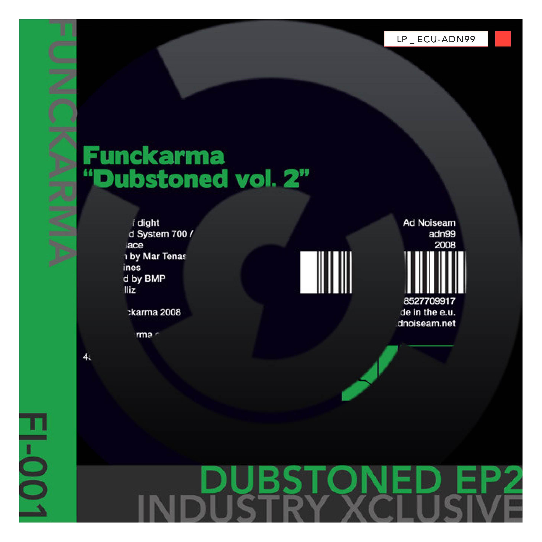 LP - ECU-ADN99 - Funckarma - Dubstoned Vol. 2