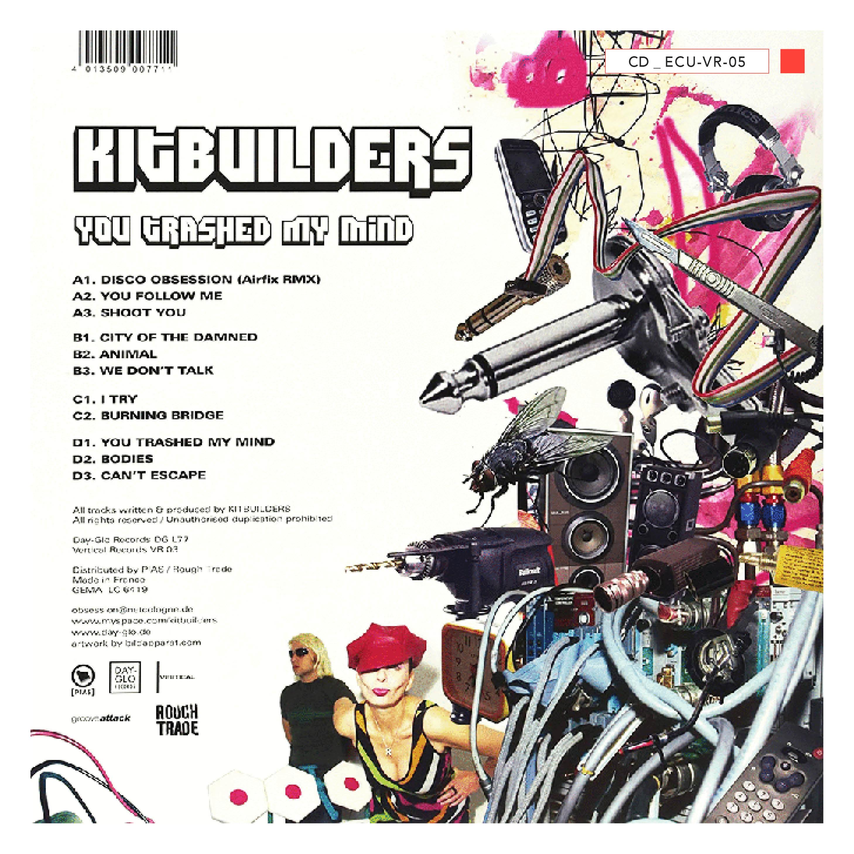 CD - ECU-VR-05 - Kitbuilders -  You Trashed My Mind - 2010