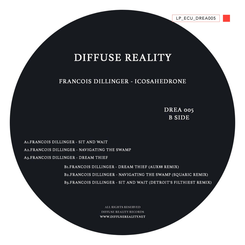 LP - ECU-DREA 005 - Francois Dillinger - Icosahedrone - 2021